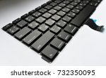 Small photo of Keyboard with alphanumeric latin and cyrillic buttons.