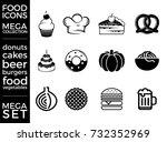 mega pack and mega set vector... | Shutterstock .eps vector #732352969
