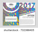 abstract vector layout... | Shutterstock .eps vector #732388405
