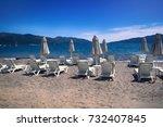 mediterranean beaches are... | Shutterstock . vector #732407845