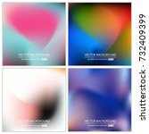 abstract creative concept... | Shutterstock .eps vector #732409399