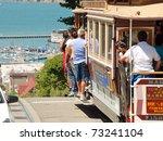 san francisco   circa june 2009 ... | Shutterstock . vector #73241104