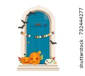 Halloween Door Decorations....