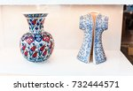 ceramic traditional turkish... | Shutterstock . vector #732444571
