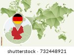 infographic for germany ... | Shutterstock .eps vector #732448921