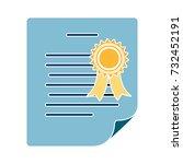 degree icon   Shutterstock .eps vector #732452191
