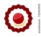 sweet tart icon | Shutterstock .eps vector #732455995