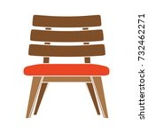 Wooden Chair Flat Icon