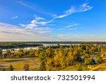 view of the lower kalemegdan... | Shutterstock . vector #732501994