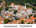 palace of sintra  palacio...   Shutterstock . vector #732530341