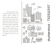 vector city and town...   Shutterstock .eps vector #732532537