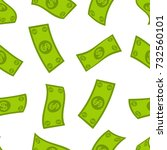 Money Flow Seamless Pattern....