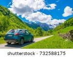 montenegro  prokletije... | Shutterstock . vector #732588175
