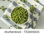 Raw Green Organic English Peas...