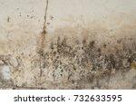 Damaged And Broken Gypsum Wall...