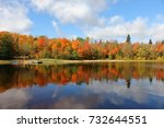 muskoka huntsville | Shutterstock . vector #732644551