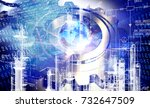 industrial technology | Shutterstock . vector #732647509