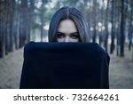 Vampire Woman In A Gloomy...