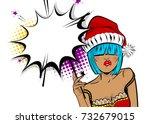 vector illustration isolated... | Shutterstock .eps vector #732679015