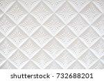 regular white background of... | Shutterstock . vector #732688201