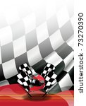 flag vector of one formulates   Shutterstock .eps vector #73270390