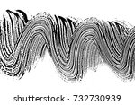 grunge soap texture black and... | Shutterstock .eps vector #732730939