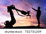artificial intelligence trend... | Shutterstock . vector #732731209
