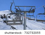 courmayeur   ski resort   Shutterstock . vector #732732055