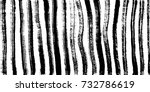 ink stripes texture. zebra... | Shutterstock .eps vector #732786619
