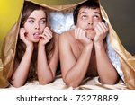 young sexy heterosexual couple... | Shutterstock . vector #73278889