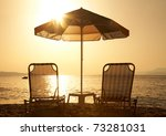 Beautiful  Beach With Deck...