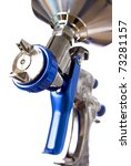 Spray gun - stock photo