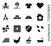 16 Vector Icon Set   Virus ...