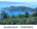 toba lake medan  indonesia   Shutterstock . vector #732835831