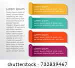infographic template for your... | Shutterstock .eps vector #732839467