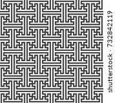 monochrome black color design... | Shutterstock . vector #732842119