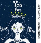 motivational and inspirational... | Shutterstock .eps vector #732898129