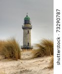 Lighthouse In Warnem    Nde ...
