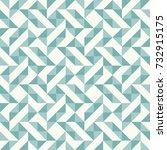regular geometric pattern... | Shutterstock .eps vector #732915175