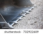 earth mover | Shutterstock . vector #732922609