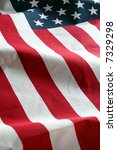 the american flag stars and... | Shutterstock . vector #7329298