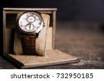 Brown  Leather Watch  Vintage...