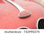 rushmoor  uk   april 3  closeup ... | Shutterstock . vector #732990274