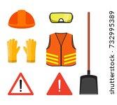 Road Works Conceptual Set ...