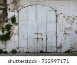 Old White Door  Larnaka Cyprus