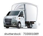 cartoon truck. available eps 10 ... | Shutterstock .eps vector #733001089
