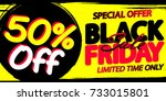 black friday sale  special...   Shutterstock .eps vector #733015801