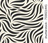 vector seamless pattern. modern ... | Shutterstock .eps vector #733021441
