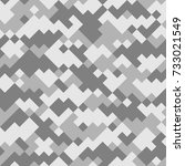 digital camouflage seamless... | Shutterstock .eps vector #733021549