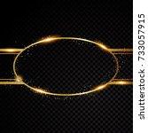 vector oval round frame....   Shutterstock .eps vector #733057915